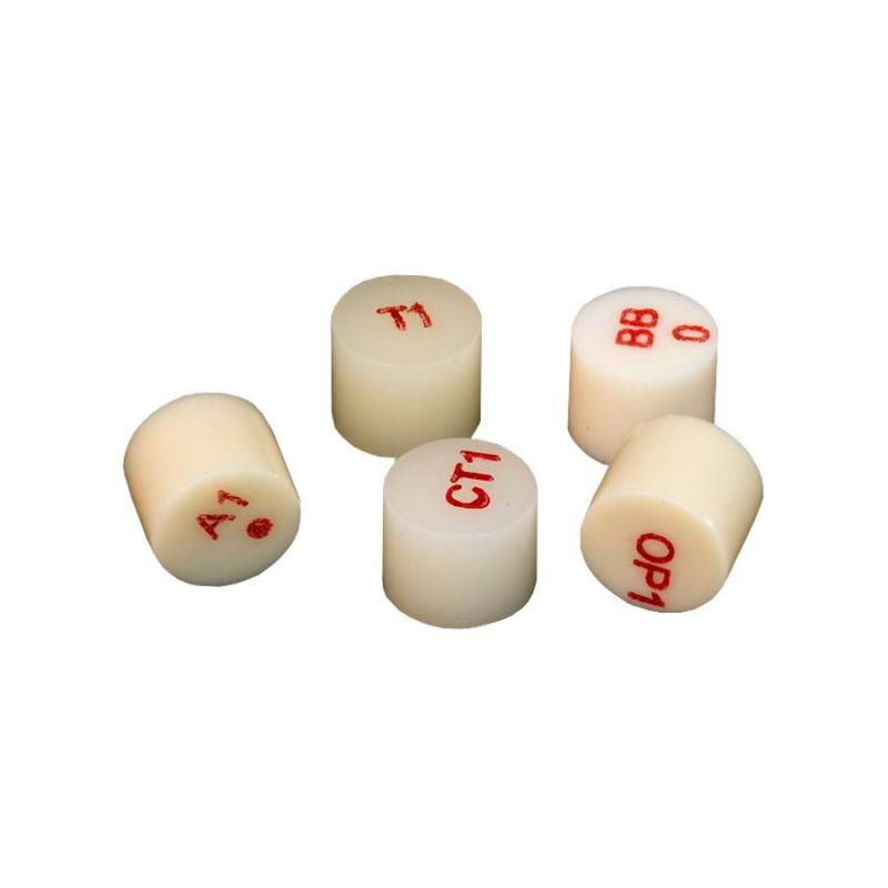 Pastilha para cerâmica prensada